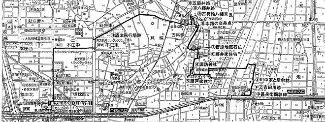 071117わくわく探検(駅前シリーズ)第7弾-吉田駅